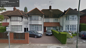 31 Ridgeway, Golders Green from Google Street View