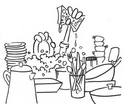 Louisiana Sea Grant College Program - Washing Dishes
